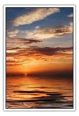 Daybreak (hodad66) Tags: water graphics photoshop 1025fav sunrise florida reflection