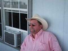 My Handsom Cowboy (JackieG...) Tags: portrait cowboy lookout selftaught