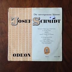Die unvergessene Stimme - Josef Schmidt, Odon M 33 OLA 1008, 10 inch (Piano Piano!) Tags: dieunvergessenestimmejosefschmidt odonm33ola1008 10inch