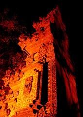 pagar Bali (Farl) Tags: bali nusadua nusa dua indonesia gate portal carving brick redclay clay handcarved art pagar tradition colors red orange hindu hinduism religion culture