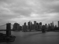 Brooklyn Bridge (Sleepy Panda) Tags: bridges nyc newyork blackandwhite monochrome architecture