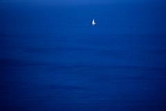 Deep Blue (Walter Quirtmair) Tags: 2005 blue sea film water santorini greece caldera ripples swq takenbywalter eos300 birdpoem colorhsvavgaccd32 colorhsvmedaaee33 colorrgbavg0b0a32 colorrgbmed040433 0x060732
