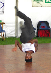 Break Dancing (Psycho Crow) Tags: nottingham riverside festival breakdance dance headspin wow fantastic 100v10f