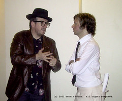elvis costello and beck (voidmstr) Tags: elviscostello beck concert backstage ucla music hollywood celebrity california losangeles spinaltap
