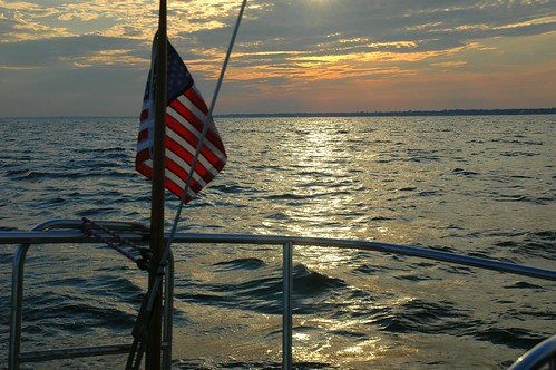 sailing on the Great South Bay by Alida's Photos