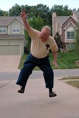 Grandpa Rich Jump (ricko) Tags: jump jumping saveme deleteme10 grandparich 5hits