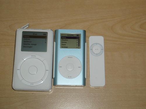 My iPod Family