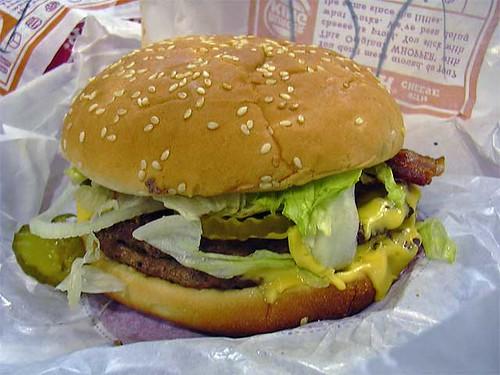 Whopper hamburger from Burger King, http://farm1.static.flickr.com/22/32482829_7f7a8a5283.jpg