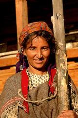 Mountain Tribals - 20 (Sanzen) Tags: mountain tribals ethnic culture women light smile jewellery