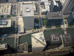 Looking down from the 103rd. (cybertoad) Tags: vacation chicago illinois sears august2005 tall summervacation utataview