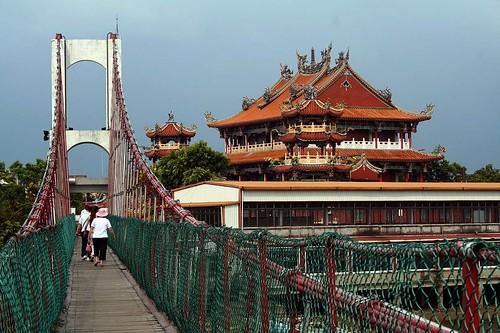 南天宮與吊橋
