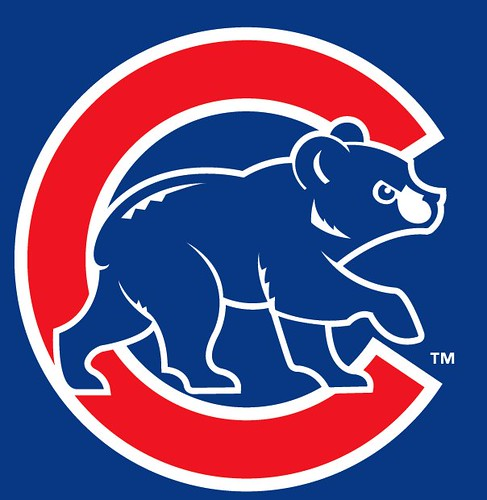 current Chicago Cubs logo