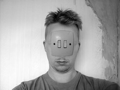switchface (mohawk) Tags: trip light wallpaper bw copyright white black art texture love nature face look wall liverpool hair switch photography see weird photo eyes photographer arte d kunst bad surreal tshirt s plaster double sean lsd freak haloween surprise horror mohawk 2009 chin 08 mutants transformed stubble wirral magie veiw magia mutated     limbert mgica magisch  transmogrified