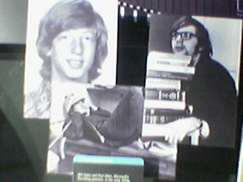 A young Bill Gates and Paul Allen by SplaTT.
