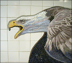 Subway mosaic 4 (tschopper (Tom Schopper Photography)) Tags: nyc familyfunday subway mosaic 81ststreet