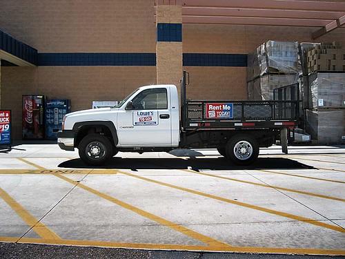 Hertz Lowe S Truck Rental Images Frompo 1