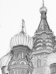St Basils - drawing effect - by _val_