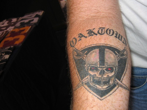 Finding more the best Raiders Tattoos on this blog.