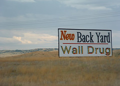 Wall Drug Billboard (justinbaeder) Tags: roadtrip walldrug wall drug wallsd wallsouthdakota billboard