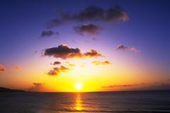 The Sun (Fawaghi (Fleur De Henn)) Tags: sun sunsest clouds red sky sea ocean reflection fawaghi