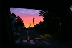 (α) Tags: window sunset hill