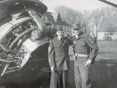 Ray & Elvis in Germany (bermudafan8) Tags: germany elvis military uniform bermudafan8 army helicoptor