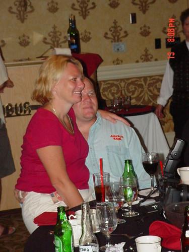 TPJ & Tina Enjoying the Moment