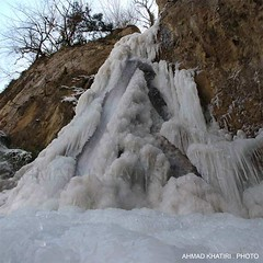 waterfal-ICE /    ... (ahmad khatiri) Tags: waterfalice zeyarat gorgan iran