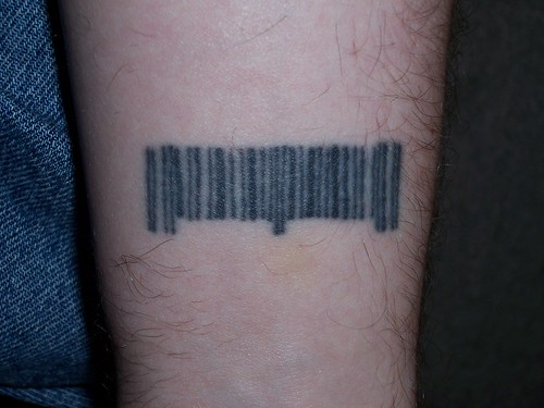 Barcode Tattoo by iamthechad