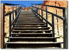 Stairway To Heaven... (.Tatiana.) Tags: topc25 topv111 topv555 heaven topc50 stairway fortaleza escada ways canoaquebrada aracati fotoclube duetos duetosdatati siteparavendadefotos httpwwwplanobfotodesigncom fototatianasapateiro