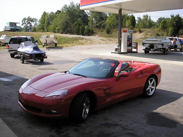 chevrolet corvette 2005 convertible