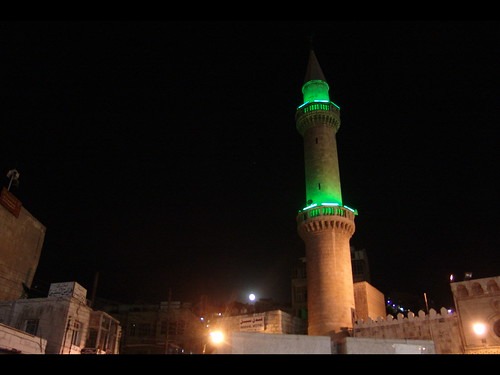 Moon and Mosque, Amman