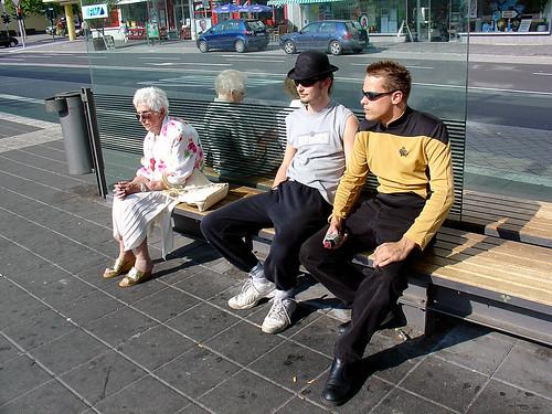 Star Trek re-enactor