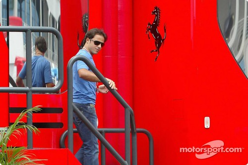 Masa Going To Ferrari Thursday Press Conference
