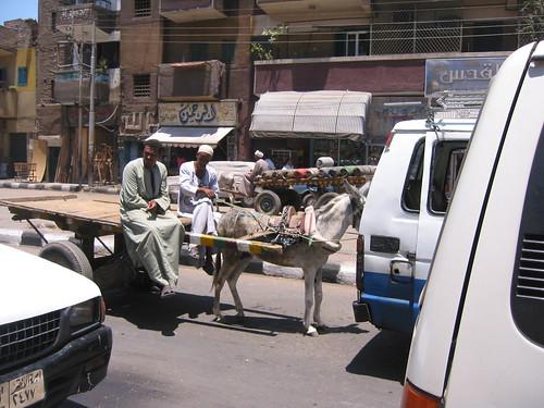 Egyptian traffic