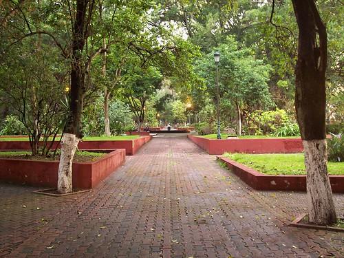 Alameda de Tepic, Nayarit, MEXICO por Christian Frausto Bernal.