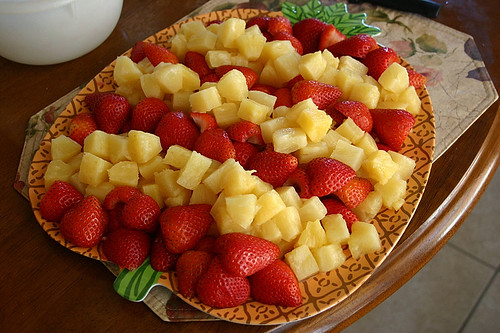 Pineapple & Strawberries
