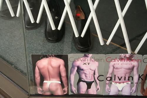 vancouver ck calvinklein underwear man shoe window