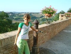 Fountain on the walls (Snazzo) Tags: 2005 sea holidays mare caterina adriatico fano snazzo