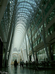 BCE Place (Ayton) Tags: city windows toronto canada glass architecture topv555 steel interior arches calatrava bceplace supports landofthedead