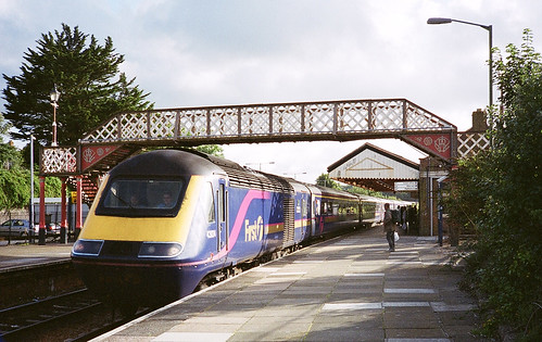 HST at Redruth