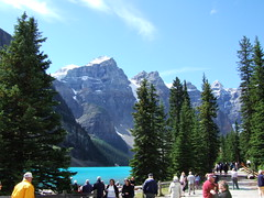 Moraine Lake (YellowPonny) Tags: canada alberta banffnationalpark morainelake banff 20050818
