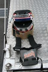 050827_3367 (Shin_s) Tags: motorsports motorracing formulanippon fujispeedway fisco f3 kodaitsukakoshi sakonyamamoto paddock interview