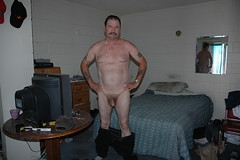 man on stairs nude standing2web