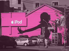 iPod ad pink - by Ayton
