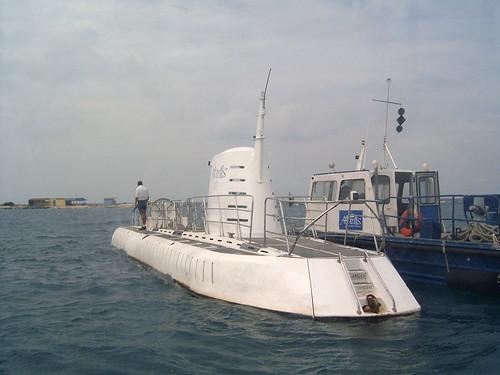 Submarino Atlantis en Aruba