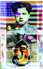 Mao-MostWantedMan.2 (Mary Bogdan) Tags: china published artist assemblage mixedmedia illustrations andywarhol mao jasperjohns playingcards greatwallofchina exhibited marybogdan exhibitedworks mixedmediapaintings mostwantedman