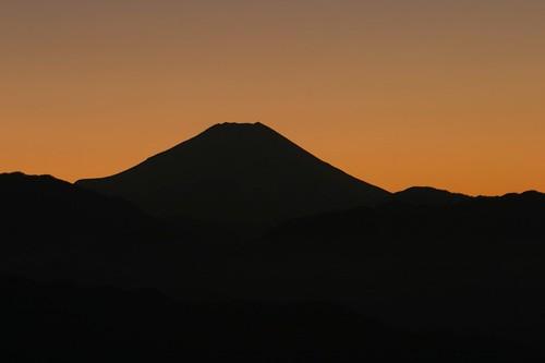 Mt.Fuji viewed from Mt.Takao