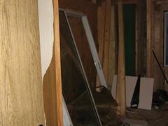 Bedroom sliding door removed (otchcav) Tags: final room destruction underway