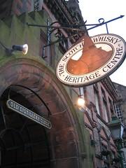 The Scotch Whisky Heritage Tour, Edinburgh - alleyway to enter